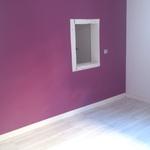 salón pintado liso rosa