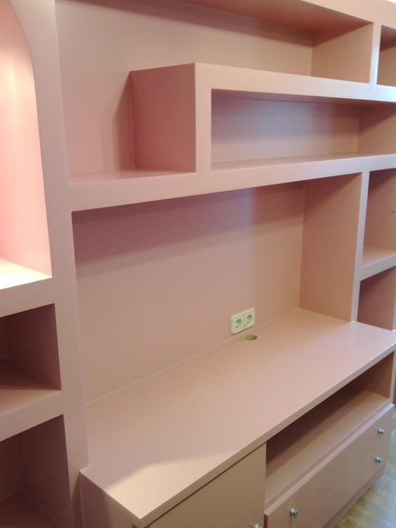 montaje de muebles de salón