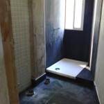 reformando baño