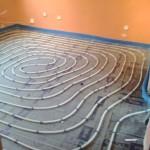 tubo de suelo radiante