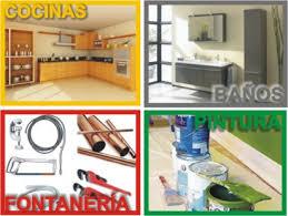 Realizamos trabajos de fontaneria,baños,cocinas,pintura... etc