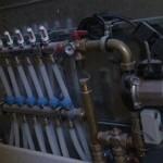 panel de mandos de suelo radiante